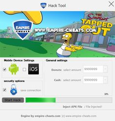 Simpsons Tapped out Hack Need more donuts? Try the tool!