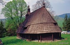 Slovakia, Topola - Wooden church Mosques, Cathedrals, Ukraine, Iglesias, Place Of Worship, Present Day, Outdoors, Architecture, House Styles