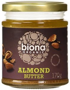 Biona Organic Almond Butter 170 g (Pack of 3) Biona http://www.amazon.co.uk/dp/B0062Y5O0O/ref=cm_sw_r_pi_dp_KvlLwb0MAE99H