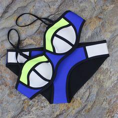 $16.99 (Buy here: https://alitems.com/g/1e8d114494ebda23ff8b16525dc3e8/?i=5&ulp=https%3A%2F%2Fwww.aliexpress.com%2Fitem%2F2015-Sexy-Swimwears-Women-s-Fashion-Neoprene-Bikinis-Woman-Patchwork-Neon-Swimsuit-Bath-Suit-Bathsuit%2F32545545226.html ) 2016 Micro bikinis set women push up sexy young girls Neoprene Bikini Woman Patchwork Neon Swimsuit Bathsuit Biquini  20 for just $16.99