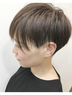 刈り上げ、ベリーショート、ショート、シルエット - 24時間いつでもWEB予約OK!ヘアスタイル10万点以上掲載!お気に入りの髪型、人気のヘアスタイルを探すならKirei Style[キレイスタイル]で。