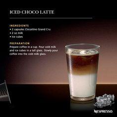 Iced Choco Latte | Discover a great recipe and enjoy a superb Nespresso moment!