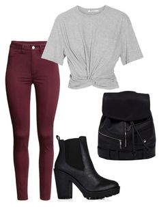 """""""Untitled #558"""" by juliatini-je ❤ liked on Polyvore featuring H&M and T By Alexander Wang"""