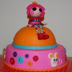 Lalaloopsy By Batgirly on CakeCentral.com