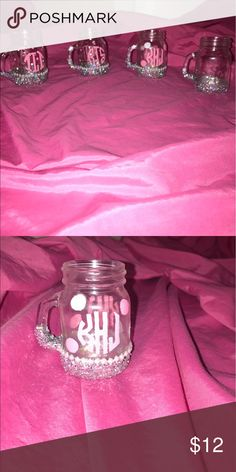 Mini Mason Jars I hand made these.. I can do whatever colors you like. These are just some examples! Just let me know! Other