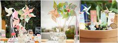 5 bonnes idées de centre de table - Le blog de Modern Confetti