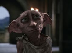 30 day HP challenge # 13: Most missed dead charater?- Dobby, definitely.   It was SO sad when he died!  I miss him giving socks to Harry.