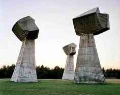 Terkedilmiş Sovyet Anıtları / Abandoned Soviet Monuments