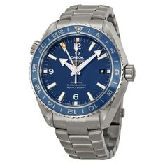 Omega Seamaster Planet Ocean Co-Axial GMT Chronograph for sale online Omega Seamaster Planet Ocean, Omega Planet Ocean, Stainless Steel Watch, Stainless Steel Bracelet, Omega Shop, Omega Seamaster Automatic, Discount Watches, Web Design, Breitling Watches