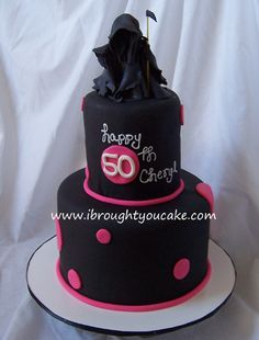 50th birthday cakes ideas 2  2011 -  Like the grim reaper