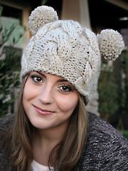 Bae Hat Knit Pattern download designed by Lena Skvagerson for Annie's. Order here: https://www.anniescatalog.com/detail.html?prod_id=123086