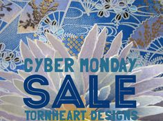 $2 off! Free Shipping! Tornheart Designs on Etsy