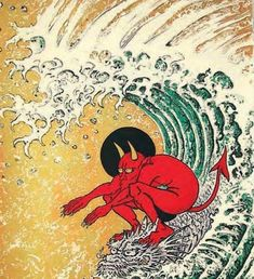 Don Ed Hardy - Cover art for Juxtapoz Art & Culture Magazine - June 2011 Art And Illustration, Japanese Illustration, Botanical Illustration, Art Inspo, Pop Art, Ouvrages D'art, Art Japonais, Surf Art, Arte Pop