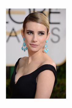 Globos de Oro. Emma Roberts, premio StyleLovely a la mejor joya.