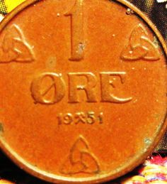 Norway Norwegian 1 One Ore Coins Europe Coins For Sale, Norway, Europe, Ebay