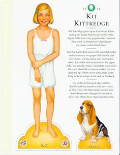 American Girl Kit Paper Doll.This From Freebird583 - MaryAnn - Picasa Web Albums