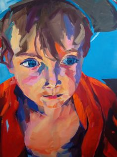 Son reworked Oil/Acryl/Canvas 90 x 120 cm Portraits, Oil, Canvas, Painting, Style, Tela, Swag, Head Shots, Painting Art