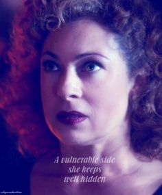 River Song...always so strong for the sake of others