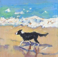 Astounding Border Collie Dog Tips Ideas Border Collie Colors, Border Collie Art, Border Collie Humor, Dog Lover Gifts, Dog Lovers, Herding Dogs, Collie Dog, Pet Portraits, Painting Portraits
