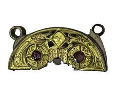 Bell Shrine Crest - Killua, Ireland - 9th century - Crest of a shrine or reliquary which would originally have enshrined an early church bell.