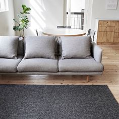 Our Sierra Weave in a brand new Charcoal colour. Handcrafted in India from a luxurious wool blend | armadillo-co.com