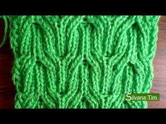 Cable Knitting, Knitting Videos, Crochet Videos, Knitting Stitches, Wire Crochet, Crochet Hooks, Knit Crochet, Stitch Patterns, Knitting Patterns