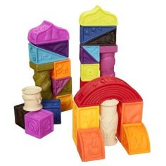 I love kid's blocks. These are awesome!