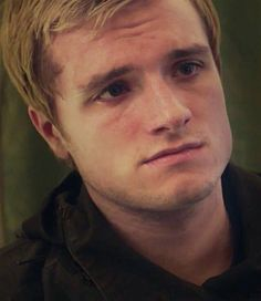 Josh Hutcherson in Mockingjay Part 2 as Peeta Mellark | So much sadness in his eyes, so lost and confused..