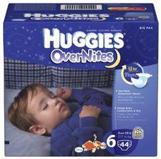 Huggies Diapers Overnite, Big Pack