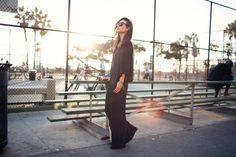 Black jumpsuit || Fashion Toast