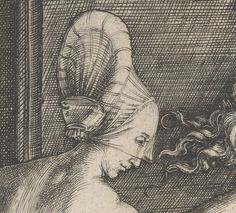 Albrecht-Durer-1471-1528-Four-Naked-Women-detail by Lady Petronilla, via Flickr
