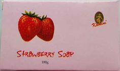 100g Strawberry soap