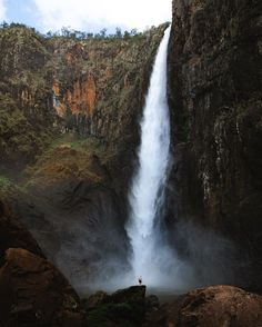 "OLLY | TRAVEL PHOTOGRAPHY on Instagram: ""Wallaman Falls - Australia's Tallest Waterfall"" Sailing, Waterfall, Travel Photography, Journey, Australia, Adventure, Outdoor, Instagram, Blog"