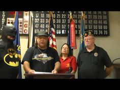 AHR On The Scene American Legion Post 250 Receives DVD and Certificate