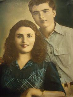 My dad and his sister Dimitrios and Katina Marmarinos. Born Halkios Chios. 1928
