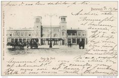 Bucuresti - Gara de Nord - 1900