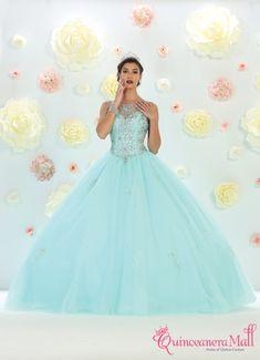 8ca3d6e046e 34 Best Aqua Quinceanera Dresses images in 2019