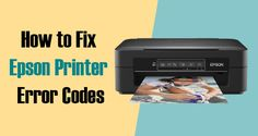 List of Epson Printer Error Codes? Epson printers are known for fantastic print durability and quality with regards to printers. You'll find printing that's brilliant Epson printers. This may last for years. Here you'll easily believe this for trouble-free printing and uses, yet something is using the technical glitches you can't avoid.