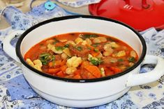 Fejett bab leves - Google-keresés Thai Red Curry, Food And Drink, Ethnic Recipes, Google, Red Peppers
