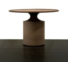 Christophe Delcourt OUM Side Table   ceramic   dia 51 x h 35 cm   choice of enamels available