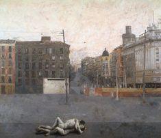 Antonio López García (b. 1936, Tomelloso, Spain) - 'Atocha', 1964 - Colección Blake-Purnell - Museo Guggenheim Bilbao
