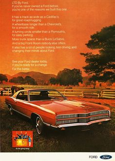 1969 car advertisement | 1969 Ford Mustang Mach I and Mercury Cougar Convertible