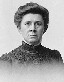 "Ida Minerva Tarbell was an American teacher, author and journalist. She was known as one of the leading ""muckrakers"" of the progressive era, work known in modern times as ""investigative journalism"". She became the first woman to take on Standard Oil. Her direct forerunner was Henry Demarest Lloyd. She began her work on The Standard after her editors at McClure's Magazine called for a story on one of the trusts."