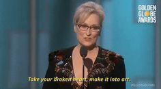 Meryl Streep cite Carrie Fisher