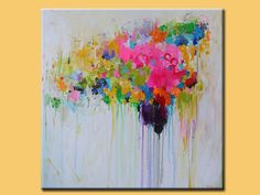 ORIGINAL abstract painting ORIGINAL painting abstract landscape Modern Contemporary Abstract art colorful Acrylic by oak