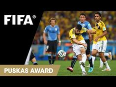 James Rodriguez  Nominado al mejor gol del año- Puskas Awad  vota en        http://www.fifa.com/ballon-dor/puskas-award/video=2463790/index.html