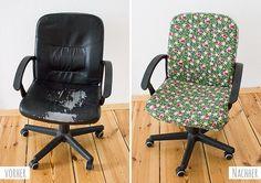 Mini-DIY: Einen Stuhl mit Stoff beziehen | Kreativlabor Berlin