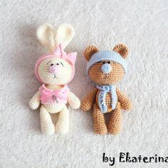 Автор фото @bakunekaterina - подписывайте свои фото тегом #weamiguru, лучшие… Bunny Crochet, Knit Or Crochet, Cute Crochet, Crochet Animals, Crochet For Kids, Crochet Crafts, Crochet Dolls, Crochet Projects, Handmade Baby Quilts