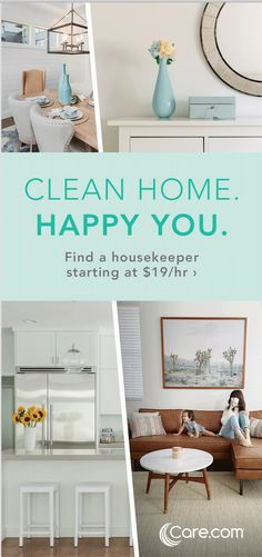 Get the help you need for your children, pets, elderly parents, home and lifestyle. Making it easier to find better care for your whole family. Household Cleaning Tips, House Cleaning Tips, Deep Cleaning, Spring Cleaning, Cleaning Hacks, Cleaning Schedules, Household Chores, Cleaning Services, Natural Cleaning Products