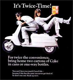 "modbrother: "" Coca-Cola magazine ad from 1960s """